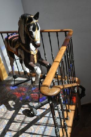La Antigua Casa de Brigit: das Bewacher-Pferd