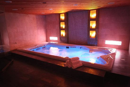 Champagne Lodge and Luxury Suites: Swim and Spa Suite