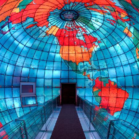 Fun fact: The Mapparium is the only structure of its kind in the world today.