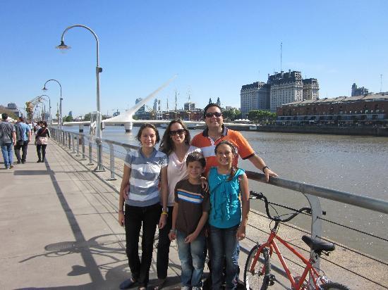 La Bicicleta Naranja Tours: En Pto Madero