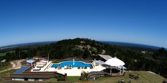 Hotel Art & Spa Las Cumbres: Hotel Panoramic View/ Vista Panorámica del Hotel