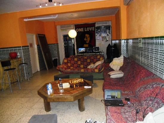 Residencia Malaga Backpackers: sala común