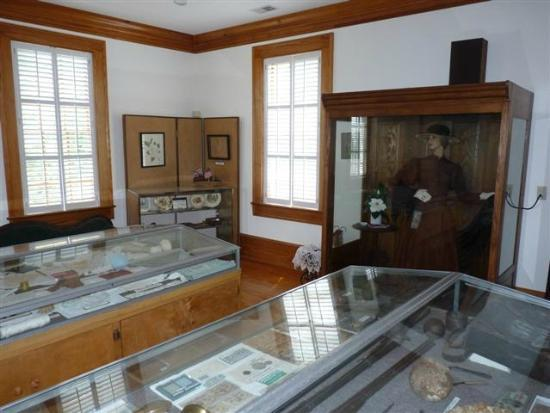 Cayce Historical Museum: displays in room