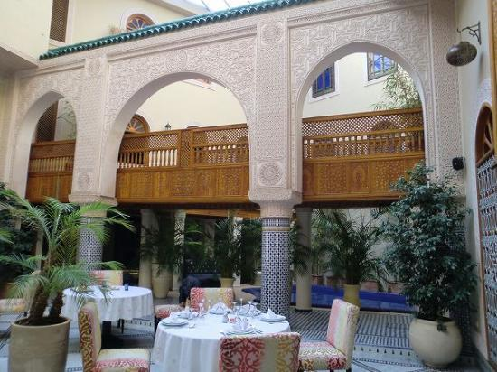Riad Andalib: beautiful interior