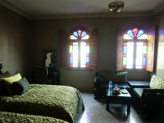 Riad Andalib: lovely room