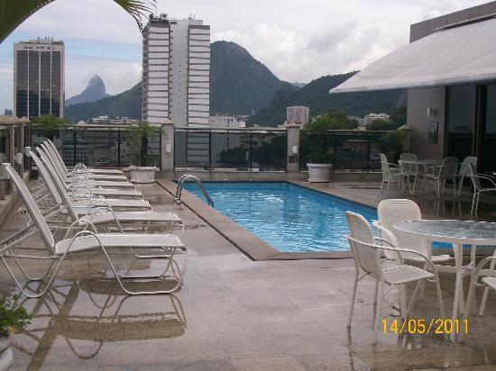 Hotel Novotel Rio de Janeiro Copacabana: piscina con una vista increible
