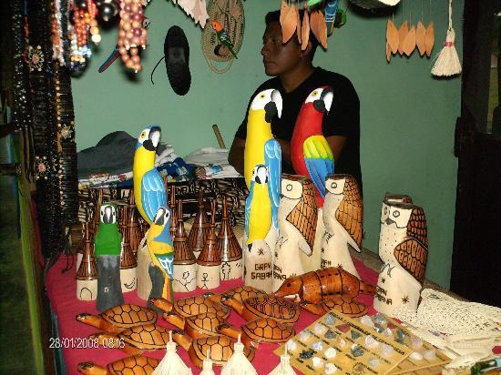 La Gran Sabana: Artesanía de los indígenas Pemones Gran Sabana Venezuela
