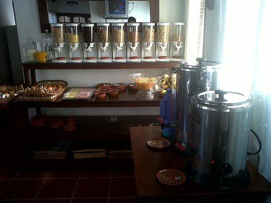 Cerro de la Cruz Hotel: Desayuno