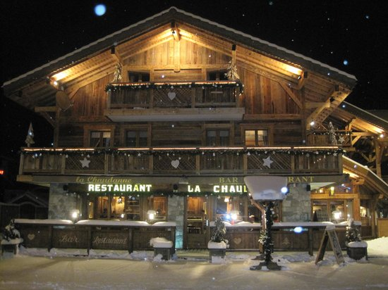 La Chaudanne : A warm welcome on a cold wintry night!