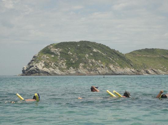 Prainhas do Pontal do Atalaia: snorkel