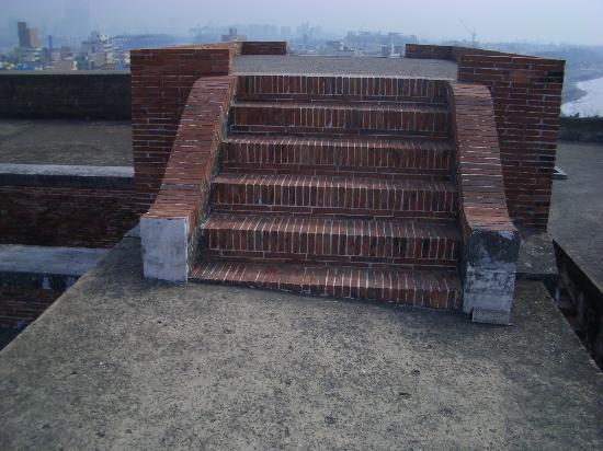 Cihou Fort : 煉瓦造り