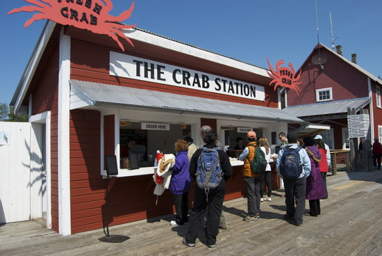The Crab Station at Icy Strait Point