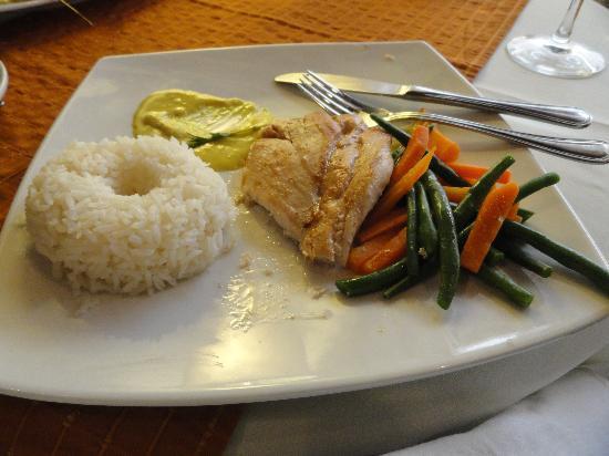 El Condado Miraflores Hotel & Suites: Delicia do menu...