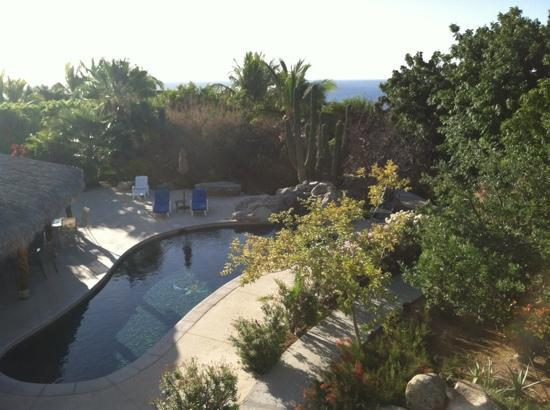 Hotel Los Nidos Inn: view from La Paloma suite.