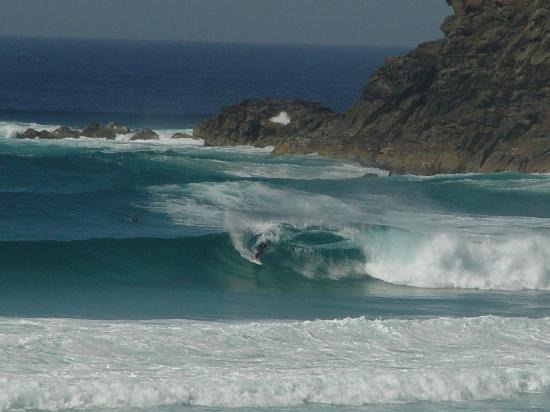 Boomerang Beach: Big Swell at Boomerang