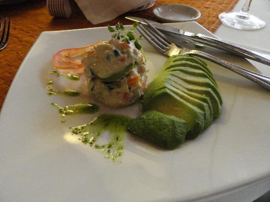 El Condado Miraflores Hotel & Suites: Essa é a entrada do menu, hum... !
