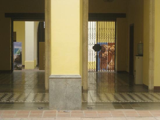 Museo para la Identidad Nacional: Lobby