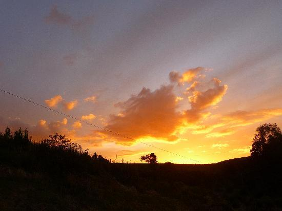 Westwind Homestay: Sunset