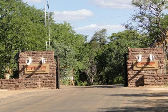 Olifants Rest Camp: La entrada
