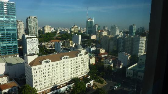 Caravelle Saigon: day view from the room.
