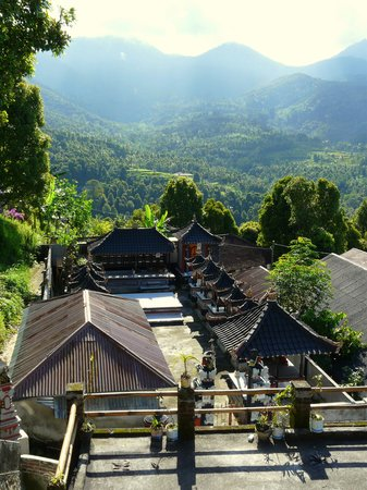 One Homestay: from the balcony...