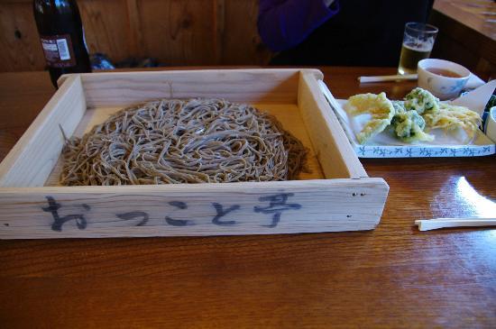 Sobadokoro Okkototei: きりだめ蕎麦&天婦羅