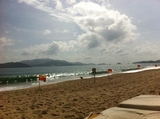 Phu Quy 2: strand in nha trang, über die hauptstrasse vom hotel phu quy2