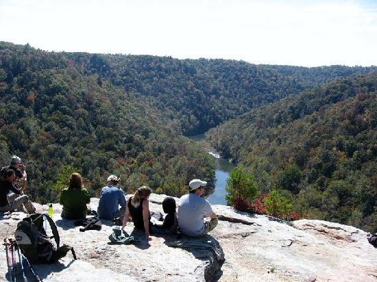 Overlook trail recreational area