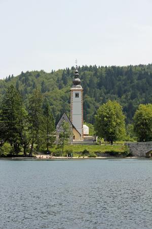Tourist Boat : Kirche Sv. Janeza Krstnika