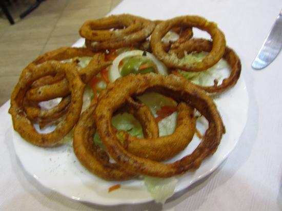 Bombay Spicy: Odd onion bhaji's