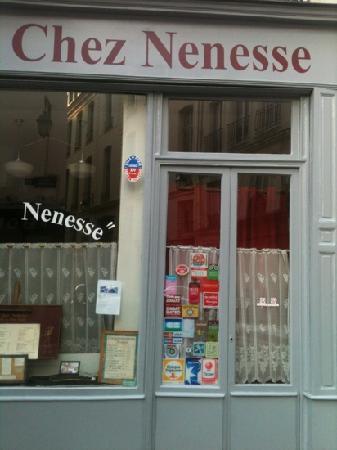 chez nenesse rue de Poitou