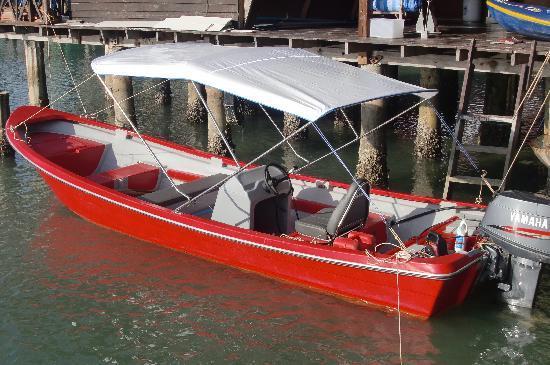 La Madrague: le bateau