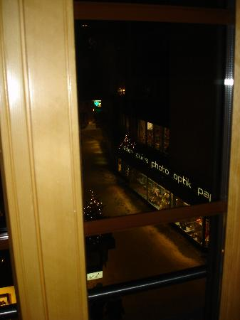 Hotel Pollux : View from room 211