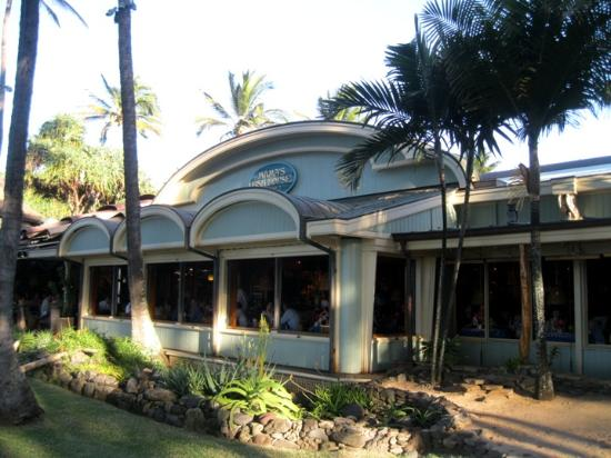 View from mamas fish house restaurant picture of mama 39 s for Fish house maui