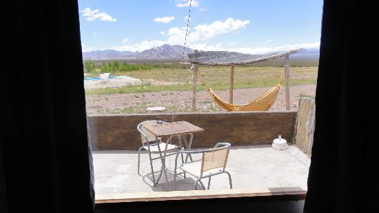 Hotel Pukarainca: vista desde la ventana