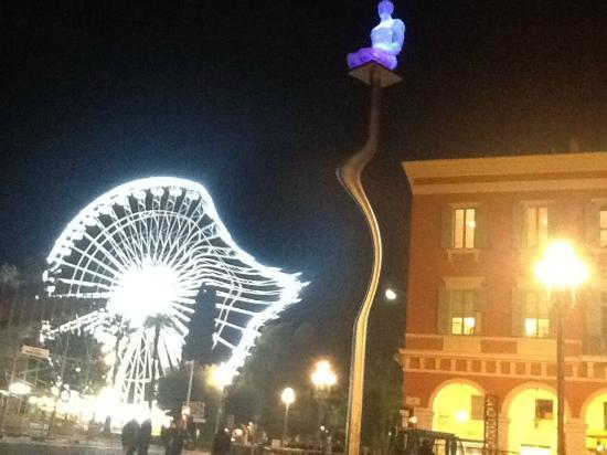 Hôtel Nice Riviera : IPad photo of the big wheel