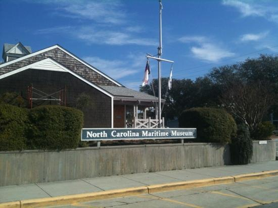 North Carolina Maritime Museum: front