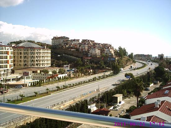 Avsallar, Turquía: Blick vom Balkon