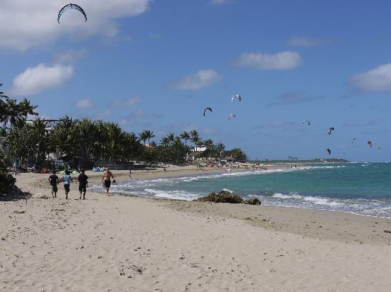 Beach Palace Cabarete: beach in Cabarete