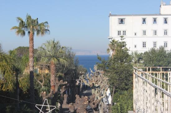 Hotel Villa Margherita: the view from window
