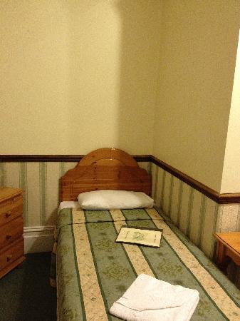 Gatwick Belmont Hotel & Restaurant : Twin Bed