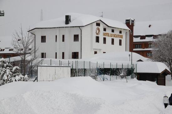 San Massimo, Italien: Panoramica Invernale Hotel Lo Sciatore