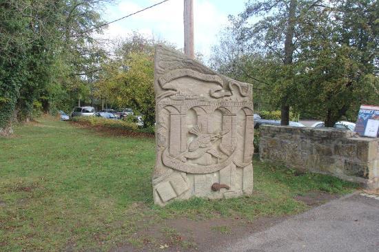 Llangollen, UK: scultura lungo la passeggiata