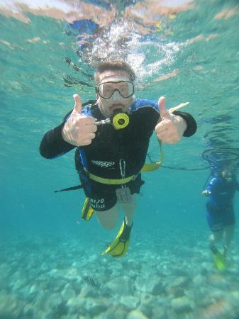 Snuba Dive Resort: Thumbs up!!