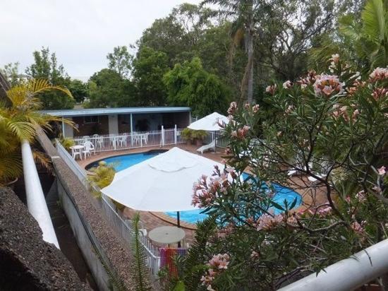 Aquajet Motel : the pool area