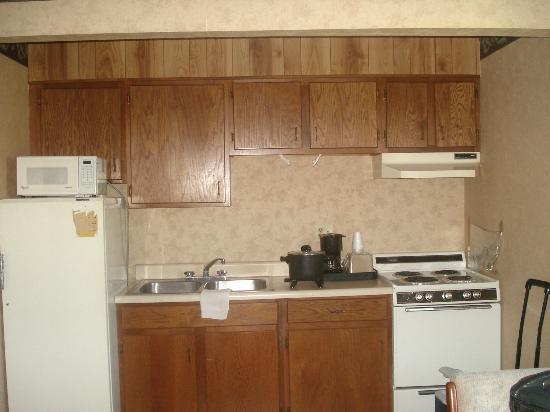 Wye Motel : kitchen