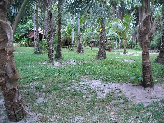 Pousada Horizonte Azul: giardino della pousada