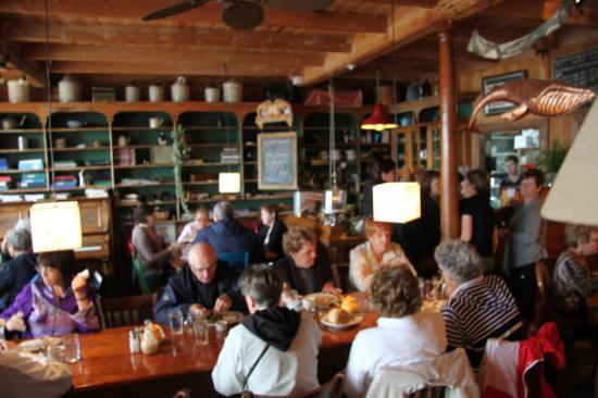 Cafe de la Grave : intérieur
