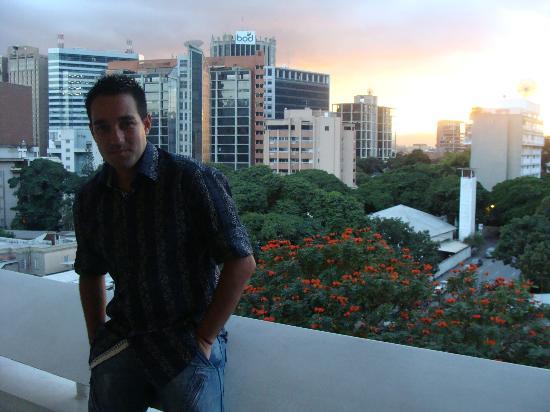 Hotel The VIP Caracas: Vistas desde el balcón
