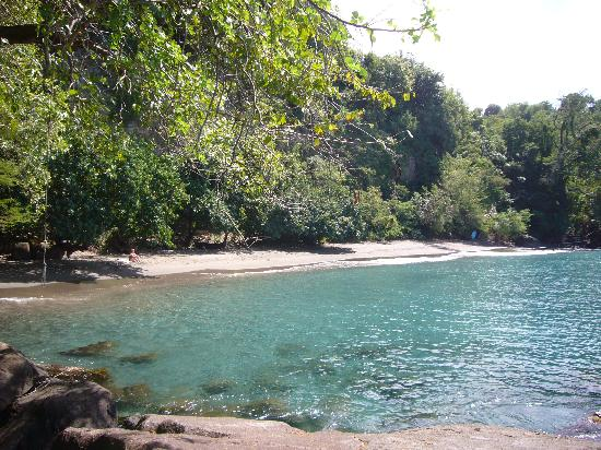 Mango Bay Cottages: the almost private beach